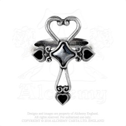 Last Chance! Alchemy Gothic AG-R211 Amourankh ring