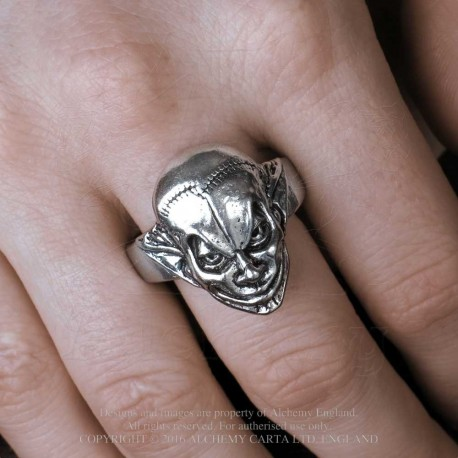 Alchemy Gothic AG-R213 M'era Luna Evil Clown Ring
