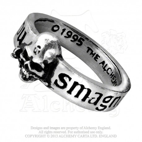 Alchemy Gothic AG-R36 The Great Wish-Ring