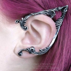 Best Seller! Alchemy Gothic E390L Arboreus Stud Ear-Wrap (left)