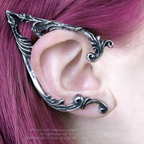 Best Seller! Alchemy Gothic E390R Arboreus Stud Ear-Wrap (right)