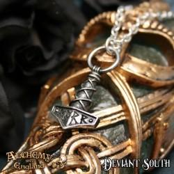 Alchemy Gothic P696 Thor's Hammer Amulet