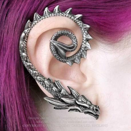 New Release! Alchemy Gothic E412 Ostrogoth Dragon Ear Wrap