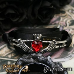 Best Seller! Alchemy Gothic P781 Claddagh By Night