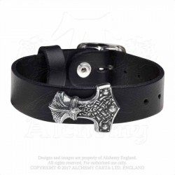 Alchemy Gothic A120 Wenig Thunderhammer leather wriststrap
