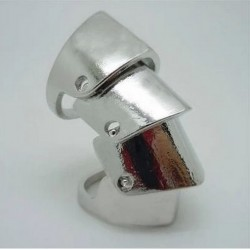 Armour Ring Silver - One Size Fits Most
