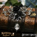 Alchemy Gothic P700 Bacchanal Rose Pewter Pendant