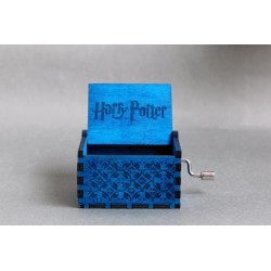 Harry Potter Hand Crank Wood Theme Music Box (On Demand)