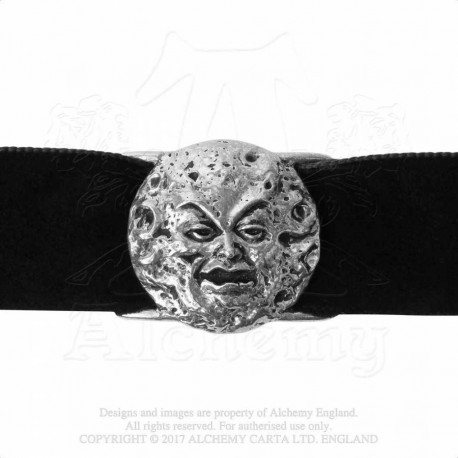 Alchemy Gothic P813 M'era Luna - Man In The Moon: Choker