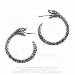 Alchemy Gothic E403 The Sophia Serpent (pair)