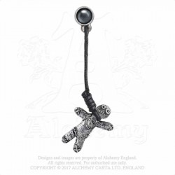 Alchemy Gothic E408 Voodoo Doll Stud (single)