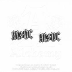 New Release! Alchemy Gothic PE4 AC/DC: logo studs (pair)