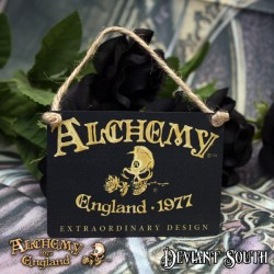 Alchemy Gothic AG-ALHS20 Alchemy England 1977 Mini Metal Sign