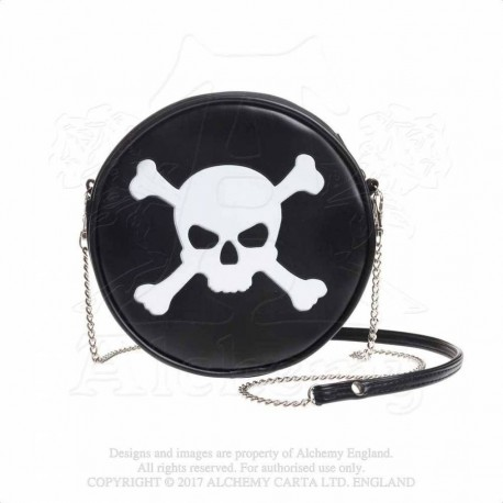 Alchemy Gothic GB7 Skull & Crossbones bag