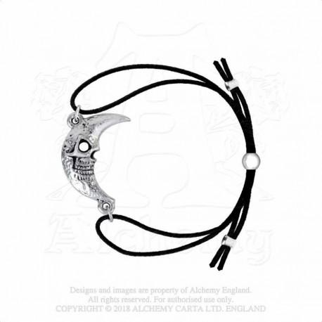 New Release! Alchemy Gothic AML2 M'era Luna: Crescens - Tragicom Moon Bracelet