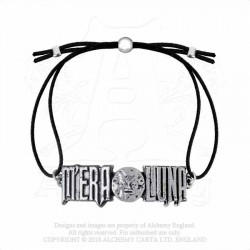 New Release! Alchemy Gothic AML4 M'era Luna: Moon Logo Bracelet