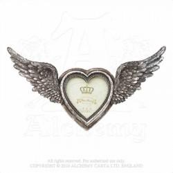 Alchemy Gothic SA1 Winged Heart Photo Frame
