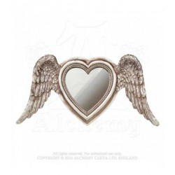 Alchemy Gothic SA6 Winged Heart Mirror