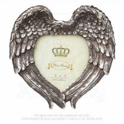 Alchemy Gothic SA7 Winged Heart Photo Frame