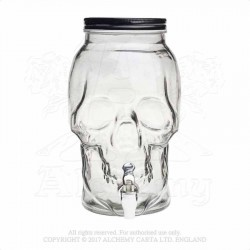 Alchemy Gothic SA12 Skull Drinks Dispenser