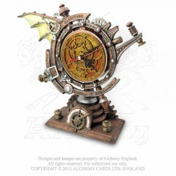 Alchemy Gothic V15 The Stormsgrave Chronometer Clock