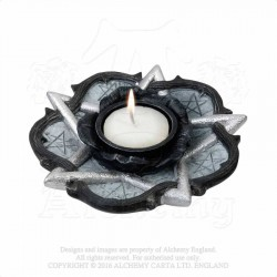 Alchemy Gothic V33 Rose Of Otrolanus T-Light Holder