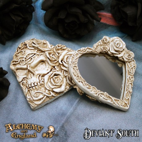 Alchemy Gothic V39 Ghost of Narcissus Compact Mirror