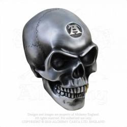 Alchemy Gothic V41 Metalised Alchemist Skull