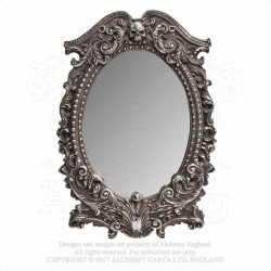 Alchemy Gothic V54 Masque of the Black Rose Wall or Table Mirror