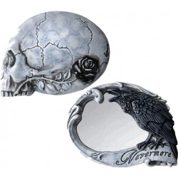 Best Seller! Alchemy Gothic V27 Nevermore Compact Mirror