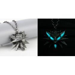 The Witcher 3: Wild Hunt Luminous Medallion Pendant Necklace