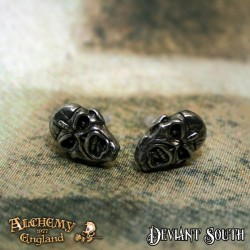 New Release! Alchemy Gothic PE6 Iron Maiden: Piece Of Mind Eddie studs (pair)