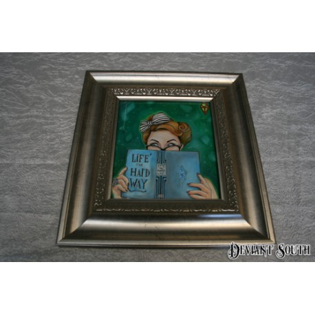LiFE THE HArD WAY framed artwork by Shane Terblanche