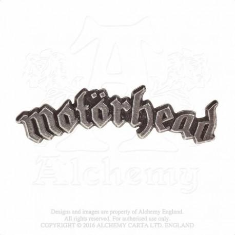Alchemy Gothic PC501 Motorhead: logo pin badge brooch