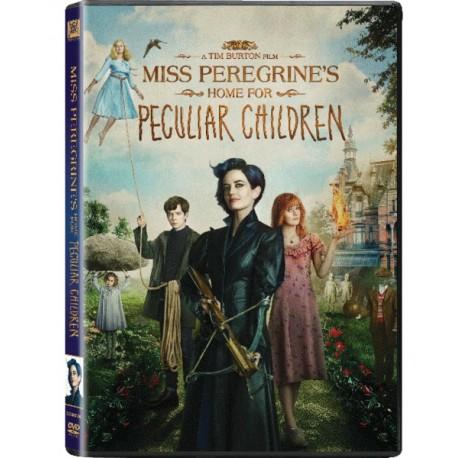 Tim Burton's Miss Peregrine's Home For Peculiar Children DVD