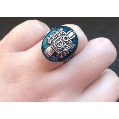 The Vampire Diaries Salvatore Damon Ring