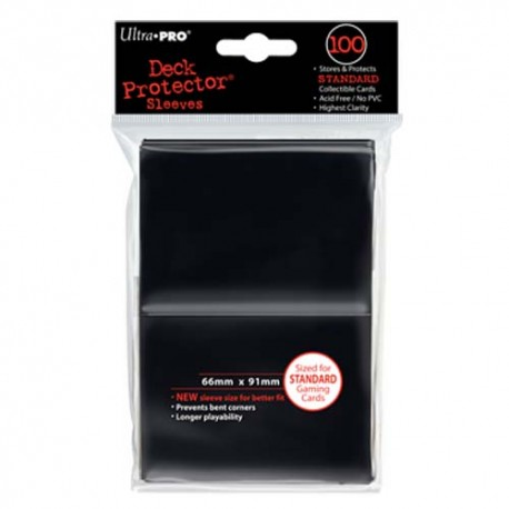 Ultra PRO Deck Protector Sleeves - Black (100)