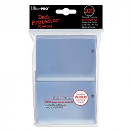 Ultra PRO Deck Protector Sleeves - Clear (100)