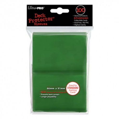 Ultra PRO Deck Protector Sleeves - Green (100)