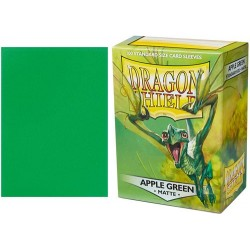 Dragon Shield Matte Standard Sleeves - Apple Green (100)