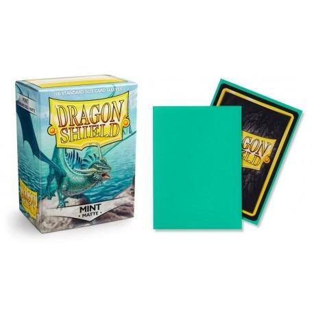 Dragon Shield Matte Standard Sleeves - Mint (100)