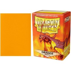 Dragon Shield Matte Standard Sleeves - Orange (100)