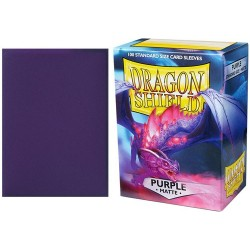 Dragon Shield Matte Standard Sleeves - Purple (100)