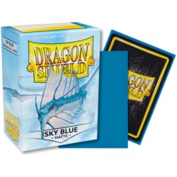 Dragon Shield Matte Standard Sleeves - Sky Blue (100)