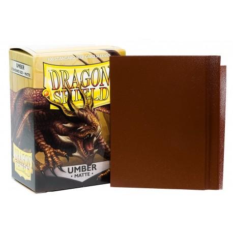 Dragon Shield Matte Standard Sleeves - Umber (100)