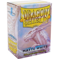 Dragon Shield Matte Standard Sleeves - White (100)