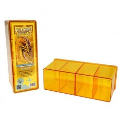 Dragon Shield 4 Compartment Storage Box - Yellow