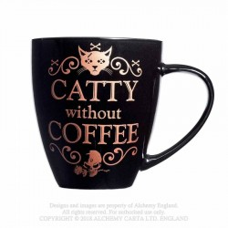 New Release! Alchemy Gothic ALMUG7 Catty Without Coffee