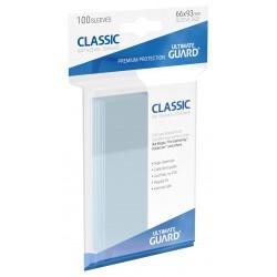 Ultimate Guard Classic Soft Slvs Std Transparent (100)
