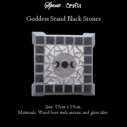 Stand Triple Goddess Black